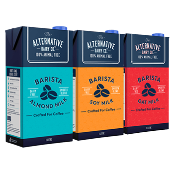 Barista Multi-Pack Oat, Almond, Soy Milk 1 Litre (3 Pack)