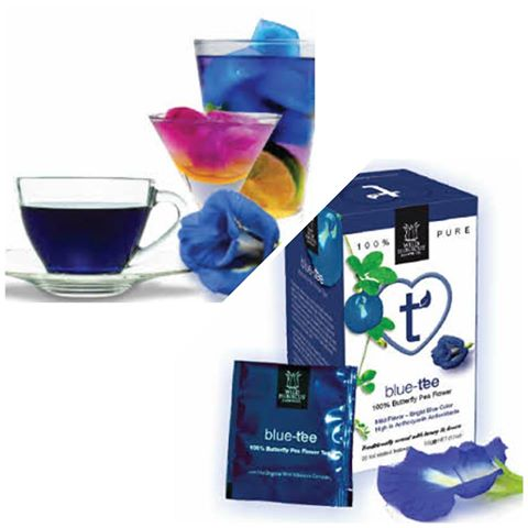 Tea Butterfly Pea Flower Blue-tee 20 Bags