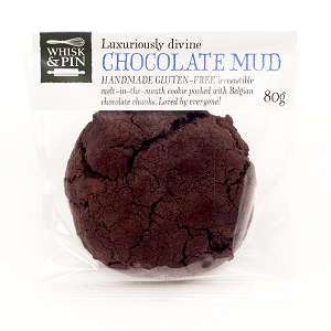 Cookies Chocolate Mud GF 80G (12 Per Carton)
