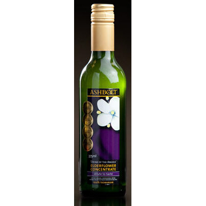 Elderflower Cordial/Concentrate 375ml Australian x 6